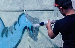 sodowanie  mobilne - usuwanie graffiti